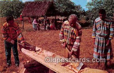 sem000004 - Seminole Indians Postcard