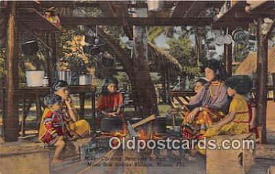 sem000012 - Seminole Indians Postcard
