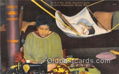 sem000016 - Seminole Indians Postcard