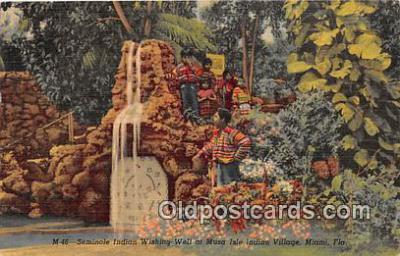 sem000030 - Seminole Indians Postcard