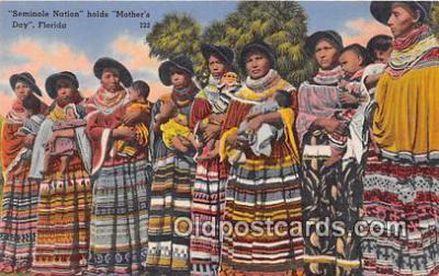 sem000054 - Seminole Indians Postcard