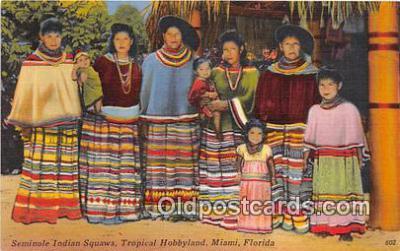sem000063 - Seminole Indians Postcard
