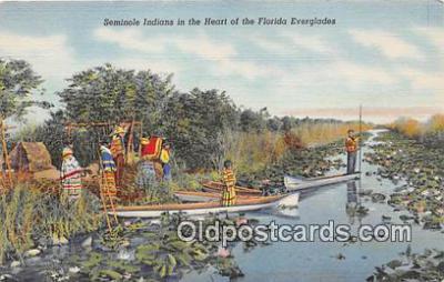 sem000113 - Seminole Indians Postcard