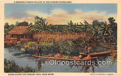 sem000126 - Seminole Indians Postcard