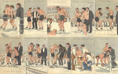 set193 - Ch. Chivot Postcards, 10 Card Set Old Vintage Antique