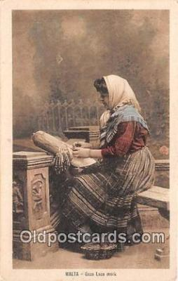 sew001050 - Sewing Postcard