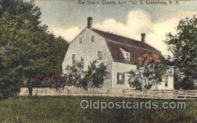 sha001015 - East Canterbury, New Hampshire Shaker Postcard Postcards