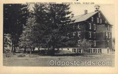 sha001021 - Shaker Postcard Postcards