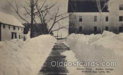 sha001024 - Sabbathday Lake Maine Shaker Postcard Postcards