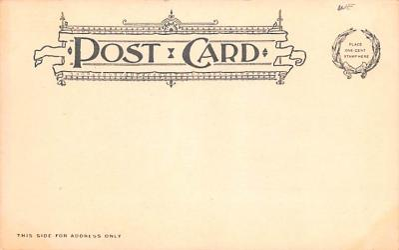 sha050035 - Shaker Postcard Mt. Lebanon, New York USA, Old Vintage Antique  back