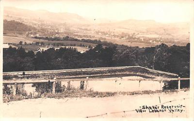 sha050039 - Shaker Postcard Mt. Lebanon, New York USA, Old Vintage Antique