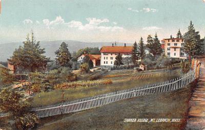 sha050041 - Shaker Postcard Mt. Lebanon, New York USA, Old Vintage Antique
