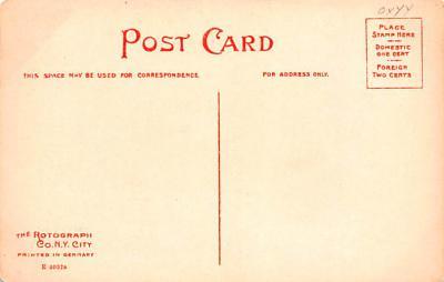 sha050041 - Shaker Postcard Mt. Lebanon, New York USA, Old Vintage Antique  back