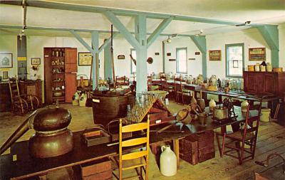 sha050045 - Shaker Postcard Mt. Lebanon, New York USA, Old Vintage Antique