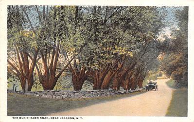 sha050051 - Shaker Postcard Mt. Lebanon, New York USA, Old Vintage Antique