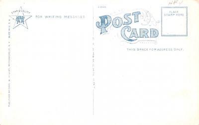 sha050051 - Shaker Postcard Mt. Lebanon, New York USA, Old Vintage Antique  back