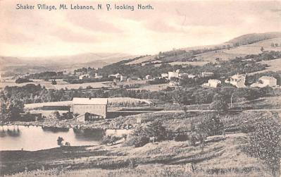 sha050057 - Shaker Columbia County, Postcard Mount Lebanon, New York USA, Old Vintage Antique