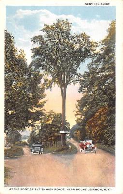 sha050061 - Shaker Columbia County, Postcard Mount Lebanon, New York USA, Old Vintage Antique