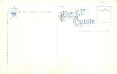 sha050061 - Shaker Columbia County, Postcard Mount Lebanon, New York USA, Old Vintage Antique  back