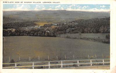 sha050067 - Shaker Columbia County, Postcard Mount Lebanon, New York USA, Old Vintage Antique