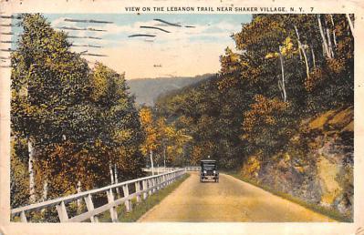 sha050069 - Shaker Columbia County, Postcard Mount Lebanon, New York USA, Old Vintage Antique