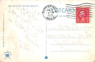 sha050069 - Shaker Columbia County, Postcard Mount Lebanon, New York USA, Old Vintage Antique  back
