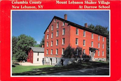 sha050075 - Shaker Columbia County, Postcard Mount Lebanon, New York USA, Old Vintage Antique