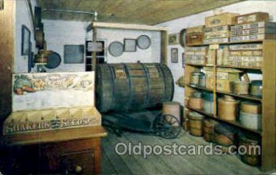 sha100004 - Museum, Old Chatham, New York, USA Shaker, Shakers, Postcard Postcards