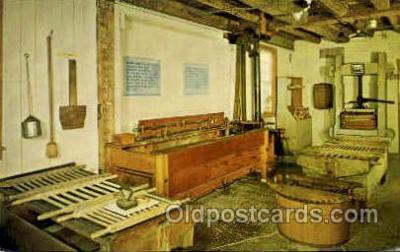 sha100034 - Museum, Old Chatham, New York, USA Shaker, Shakers, Postcard Postcards