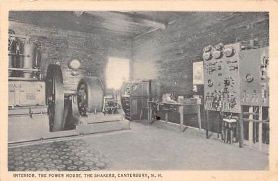 sha200020 - Old Vintage Shaker Post Card