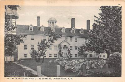 sha200046 - Old Vintage Shaker Post Card