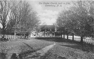 sha200049 - Old Vintage Shaker Post Card