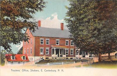 sha200082 - Old Vintage Shaker Post Card