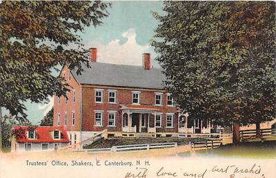 sha200084 - Old Vintage Shaker Post Card
