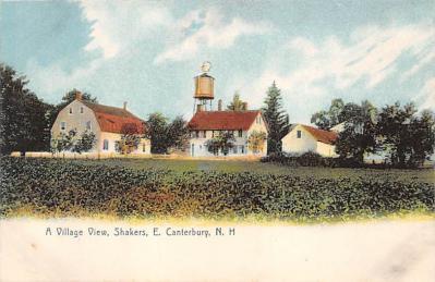 sha200126 - Old Vintage Shaker Post Card