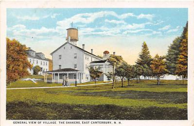 sha200129 - Old Vintage Shaker Post Card