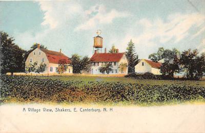 sha200131 - Old Vintage Shaker Post Card