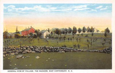 sha200174 - Old Vintage Shaker Post Card