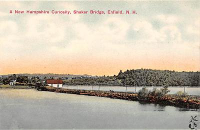 sha300013 - Old Vintage Shaker Post Card