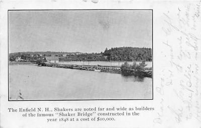 sha300039 - Old Vintage Shaker Post Card