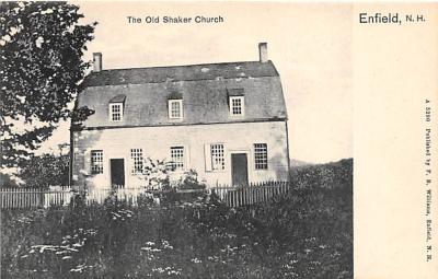 sha300085 - Old Vintage Shaker Post Card