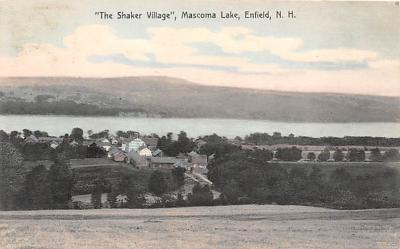 sha300095 - Old Vintage Shaker Post Card