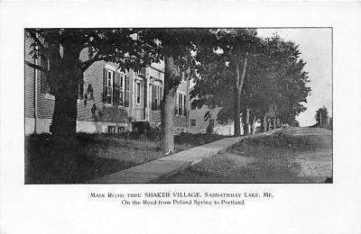 sha400010 - Old Vintage Shaker Post Card