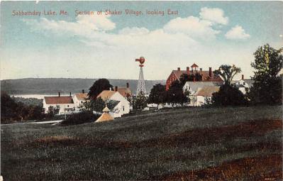 sha400023 - Old Vintage Shaker Post Card