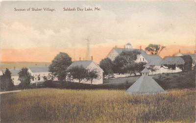 sha400024 - Old Vintage Shaker Post Card