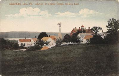 sha400025 - Old Vintage Shaker Post Card