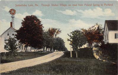 sha400029 - Old Vintage Shaker Post Card