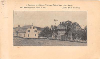 sha400042 - Old Vintage Shaker Post Card