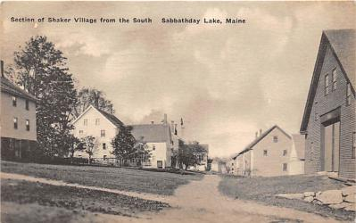 sha400050 - Old Vintage Shaker Post Card