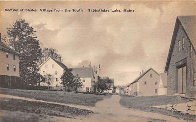 sha400051 - Old Vintage Shaker Post Card